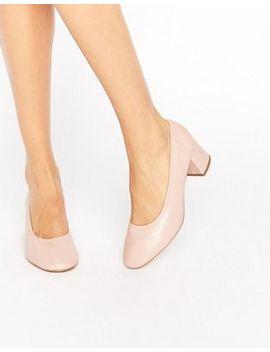 river-island-block-heel-glove-shoe by river-island