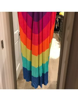 mara-hoffman-rainbow-colored-cotton-coverup by mara-hoffman