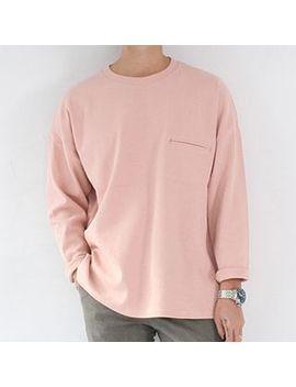 plain-long-sleeve-t-shirt by streetstar