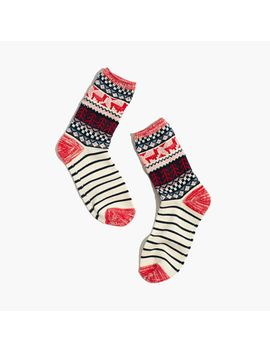 llama-trouser-socks by madewell