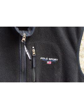 polo-sport-ralph-lauren-fleece-vest-supreme-outdoors-hiking-m-vintage-90s-rare by bucksvintage
