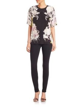 kimono-print-silk-blouse by roberto-cavalli