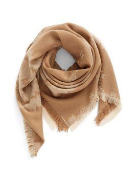 geo-print-jacquard-scarf by bp