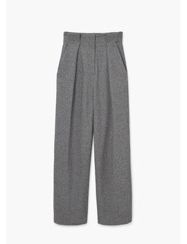 high-waist-palazzo-trousers by mango