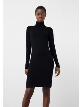 turtle-neck-dress by mango