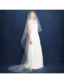 twigs-&-honey®-cathedral-veil by jcrew