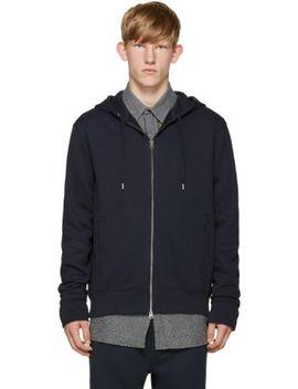 navy-johna-hoodie by acne-studios