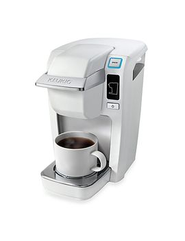 keurig®-k15-mini-plus-brewing-system-in-white by bed-bath-and-beyond
