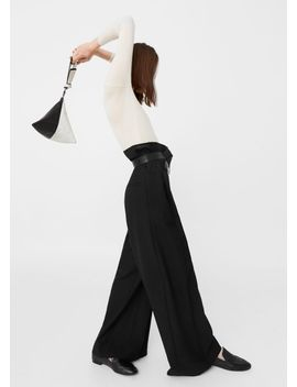 palazzo-virgin-wool-trousers by mango