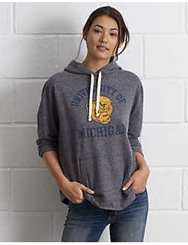 tailgate-womens-michigan-oversize-hoodie by american-eagle-outfitters