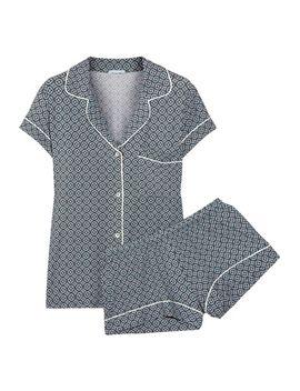 sleep-chic-printed-jersey-pajama-set by eberjey