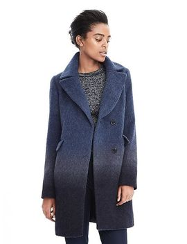 ombre-wool-blend-coat by banana-repbulic