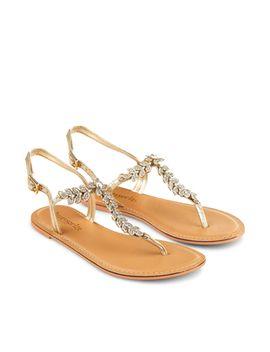 fleur-diamante-leaf-sandal by accessorize