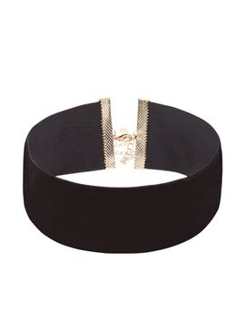extra-wide-velvet-choker by accessorize