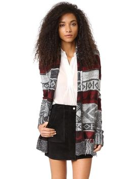 loyd-patterned-fringe-cardigan by bb-dakota