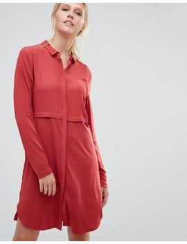pieces-pips-shirt-dress by pieces