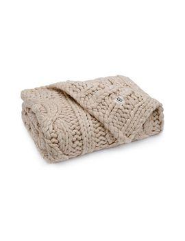 oversize-knit-blanket by ugg®