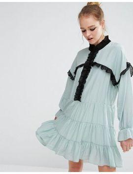 sister-jane-ruffle-detail-smock-dress by sister-jane