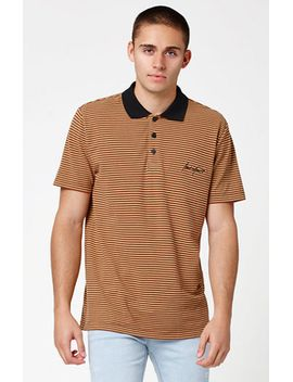 modern-amusement-hammett-pique-striped-polo-shirt-at by modern-amusement