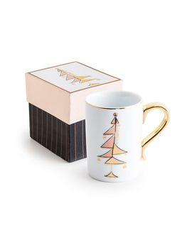 good-cheer-peace-tree-porcelain-mug by rosanna