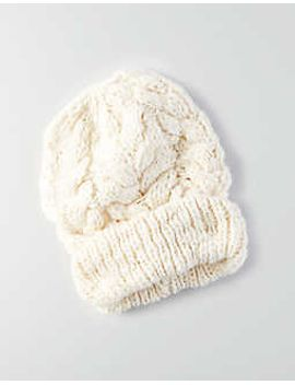 aeo-cable-knit-beanie by american-eagle-outfitters