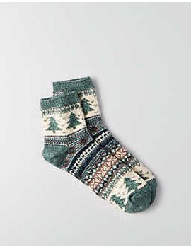 aeo-fairisle-ankle-socks by american-eagle-outfitters