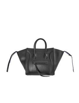 medium-luggage-phantom-handbag---black by celine