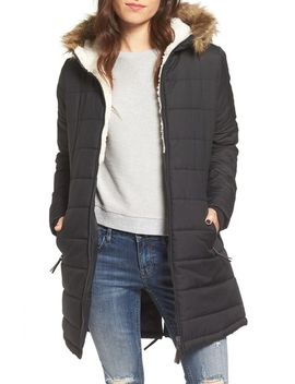 quilted-hooded-coat-with-faux-fur-trim by maralyn-&-me