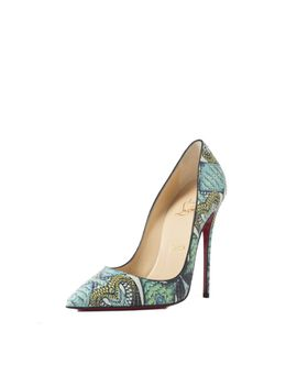 so-kate-multicolor-python-pumps by christian-louboutin