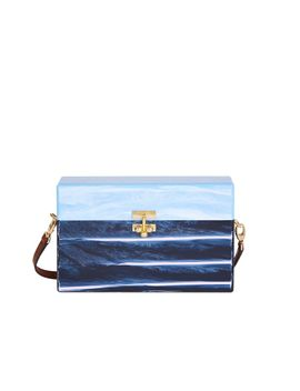 large-trunk-half-half-clutch-bag---light-blue-marble-_-multi by edie-parker