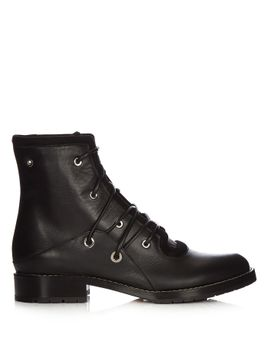 lace-up-leather-military-boots by proenza-schouler