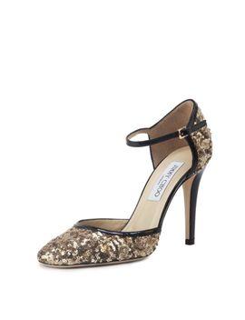 tessa-sequined-sandal-pump by jimmy-choo