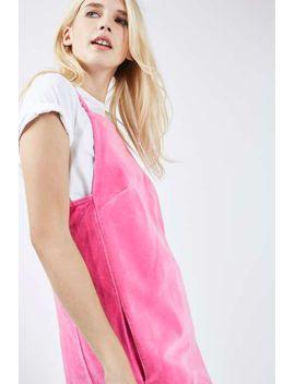 moto-velvet-mini-pini-dress by topshop