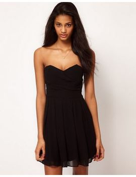 tfnc-dress-pleated-chiffon-skater-dress by tfnc
