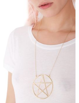 glorious-hex-necklace by fashion-accents