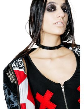 death-wish-spiked-choker by fad-treasures