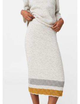 trims-pencil-skirt by mango