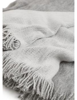 textured-blanket by mango
