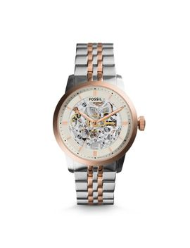 townsman-automatic-two-tone-stainless-steel-watch by fossil