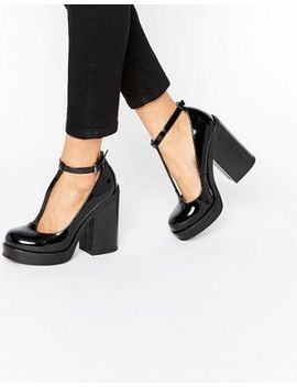 asos-oki-chunky-t-bar-shoes by asos-collection