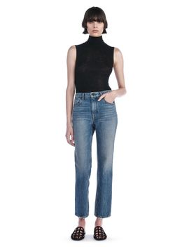 sheer-wooly-rib-mock-neck-tank by alexander-wang