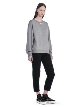 soft-french-terry-sweatshirt by alexander-wang