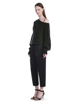 chunky-mohair-asymmetrical-sweater by alexander-wang
