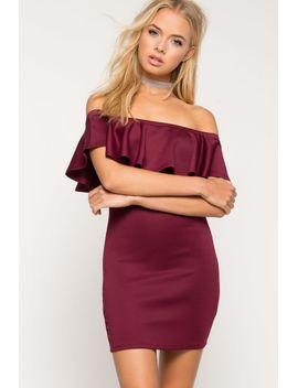 ruffle-mini-dress by agaci