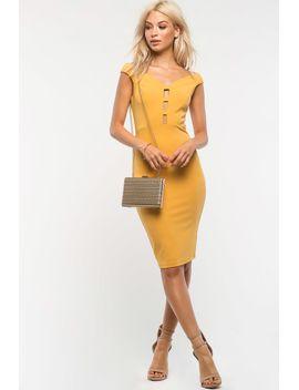 triple-cut-out-off-shoulder-dress by agaci