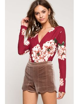 floral-surplice-bodysuit by agaci