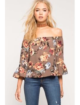 floral-dreams-off-shoulder-top by agaci
