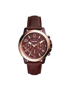 fossil®-gwynn-chronograph-leather-watch by bon-ton