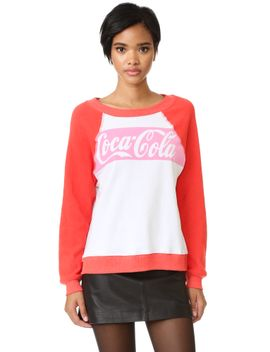 coca-cola-classic-sweatshirt by wildfox