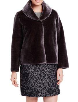 notato-faux-fur-jacket by persona-by-marina-rinaldi
